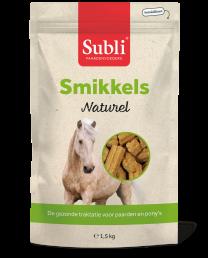 Subli Smikkels Naturel zak 1,5 kg.
